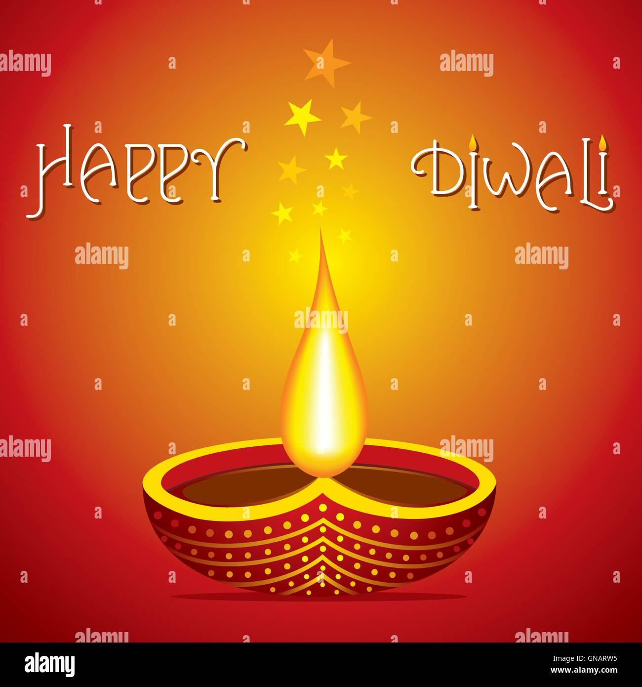 Happy diwali greeting card with girl birthday invitations free happy diwali greeting card design stock vector art illustration happy diwali greeting card design gnarw5 stock kristyandbryce Choice Image