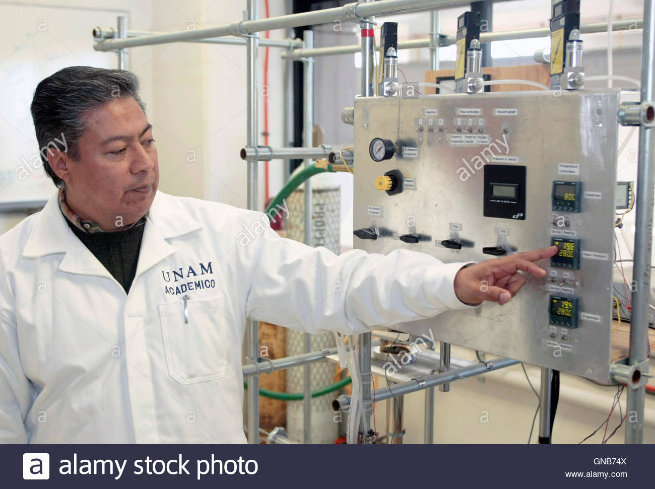 luis miguel apatiga a doctor in engineering of materials luis miguel apatiga a doctor in engineering of materials introduces his equipment during an interview reuters television at the national autonomous