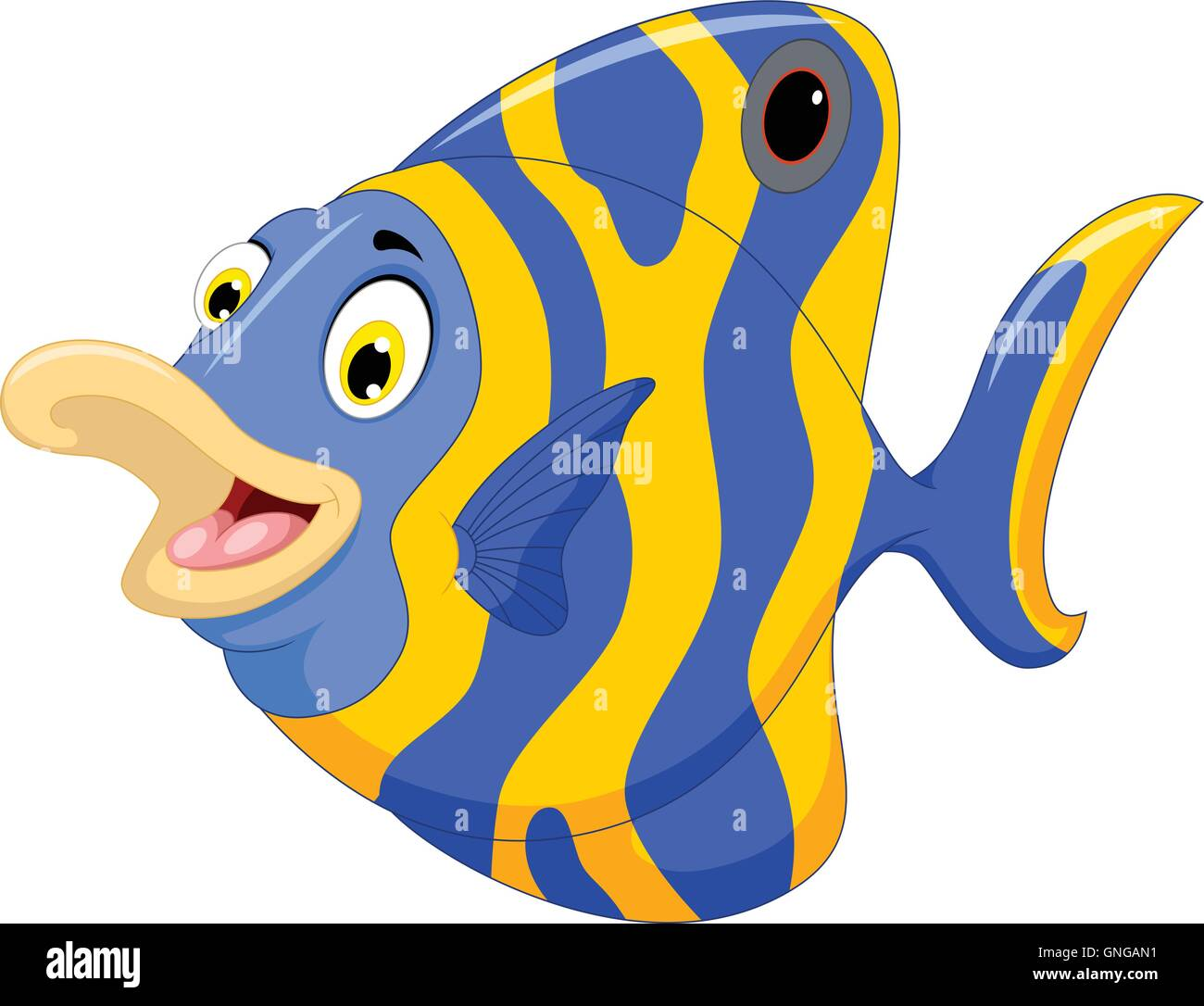 Uncategorized Cartoon Angel Fish funny angel fish cartoon stock vector art illustration cartoon
