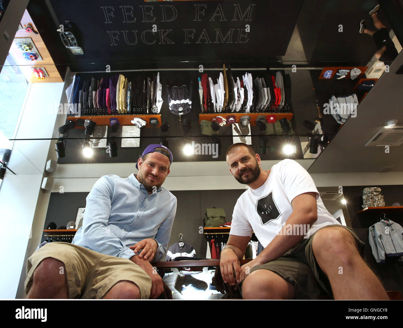 christian boszczyk and dusan cvetkovic from the streetwear label beastin in