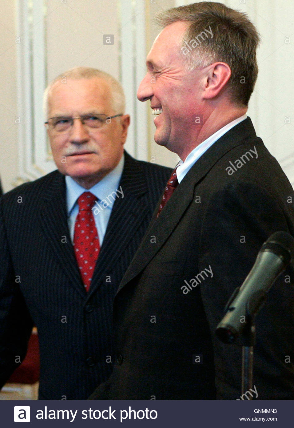 czech prime minister mirek topolanek r smiles after tendering czech prime minister mirek topolanek r smiles after tendering his resignation to czech president
