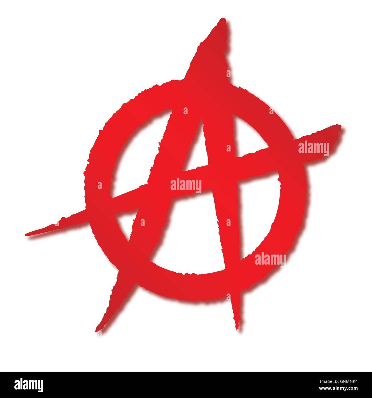 Red anarchy symbol stock vector art illustration vector image red anarchy symbol buycottarizona