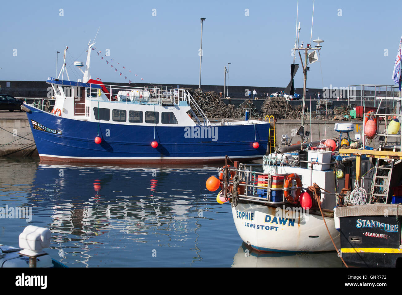Farne islands tourist trip boat and fishing boat in for Fishing boat trips