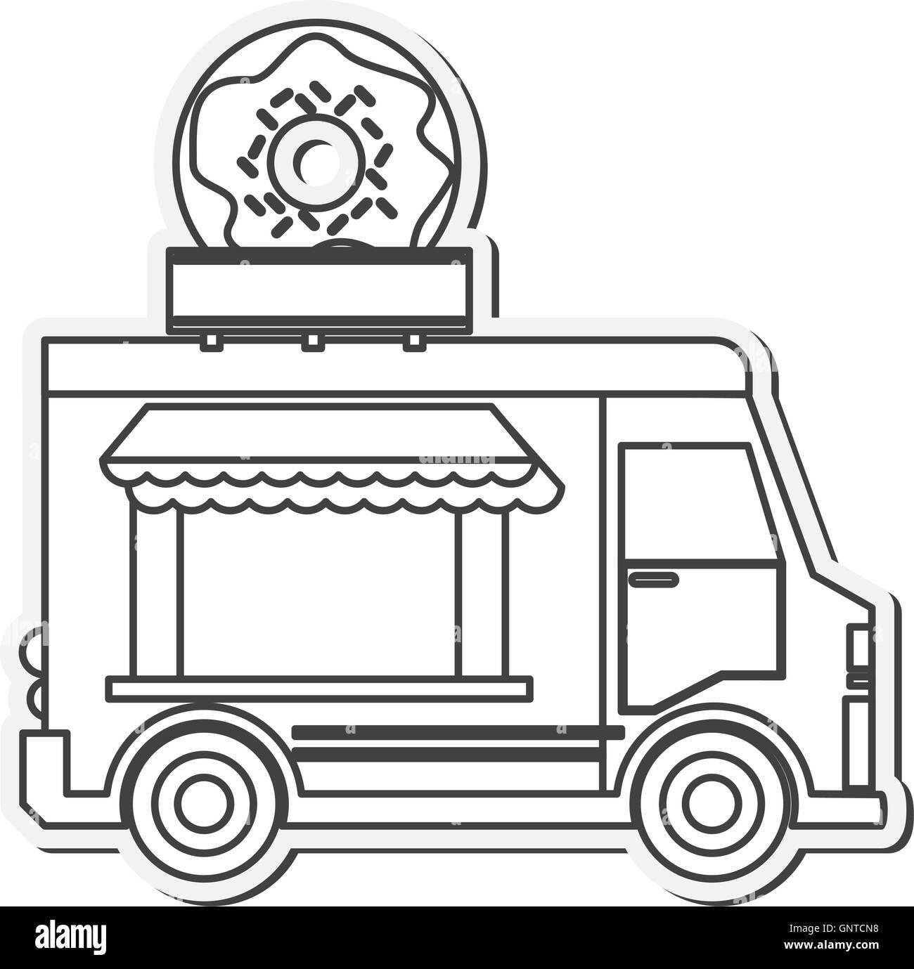 Food Truck Delivery Design