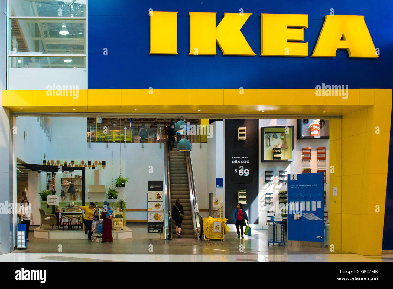 Ikea Store Inside Rhodes Waterside Shopping Centre Sydney New Stock Photo Royalty Free Image