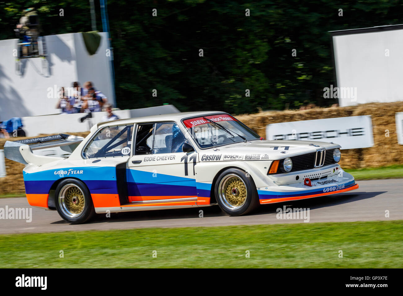 BMW I Group With Driver Kevin Cooper At The - 1977 bmw