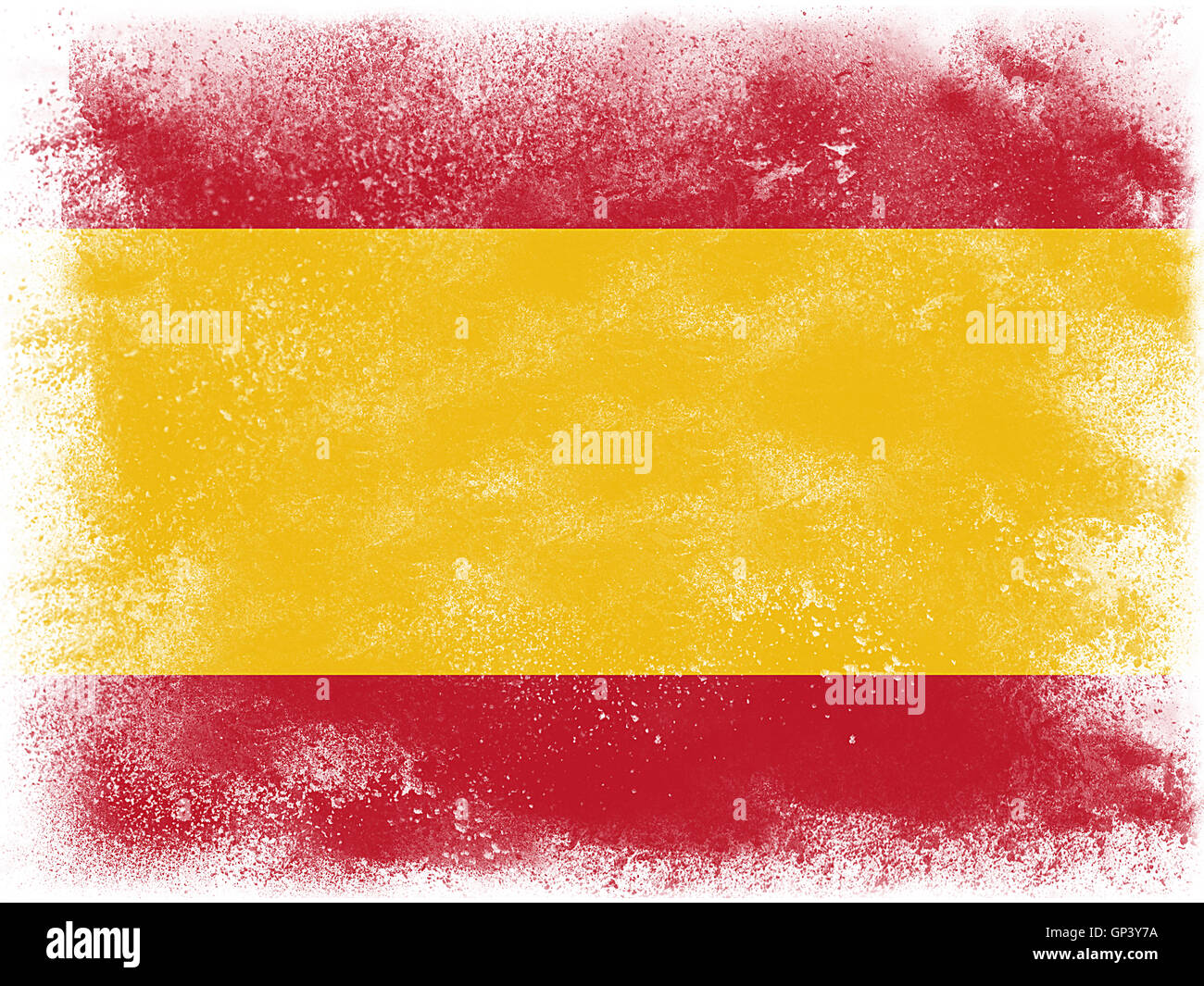 Powder paint exploding in colors of spain flag isolated on white powder paint exploding in colors of spain flag isolated on white background abstract particles explosion voltagebd Gallery