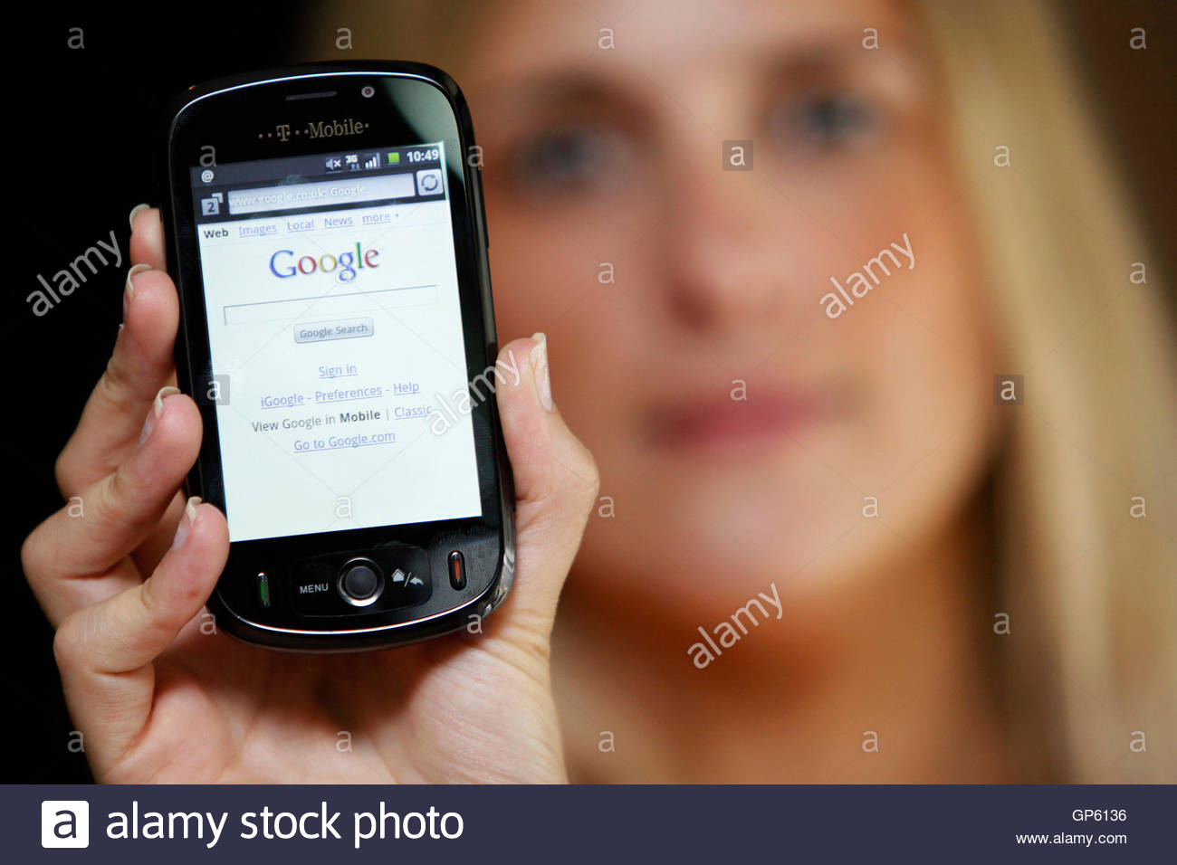 Camera Android Phones Pay As You Go a t mobile employee holds new android based smartphone in london deutsche telekoms uk is launching the worlds first pay as you go google phone strengthening inter