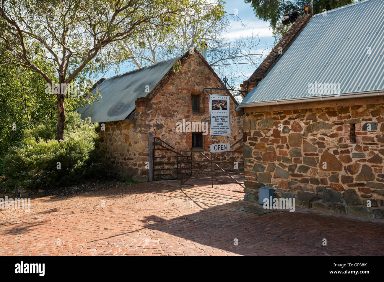The historic Rockfords Winery cellar door sales area in South Australia\u0027s Barossa Valley & The historic Rockfords Winery cellar door sales area in South Stock ...
