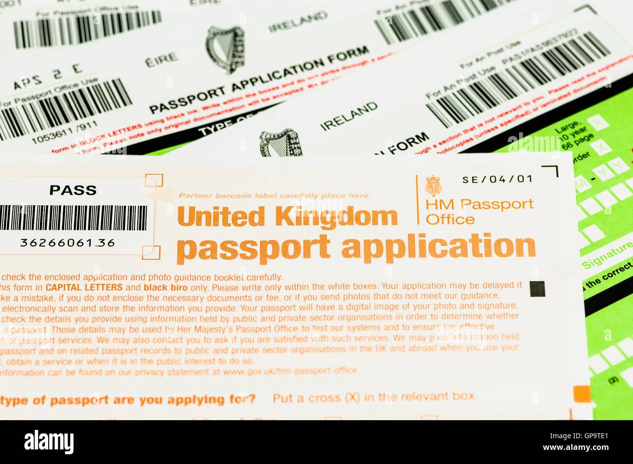 Passport application forms for both republic of ireland eire passport application forms for both republic of ireland eire and united kingdom uk falaconquin