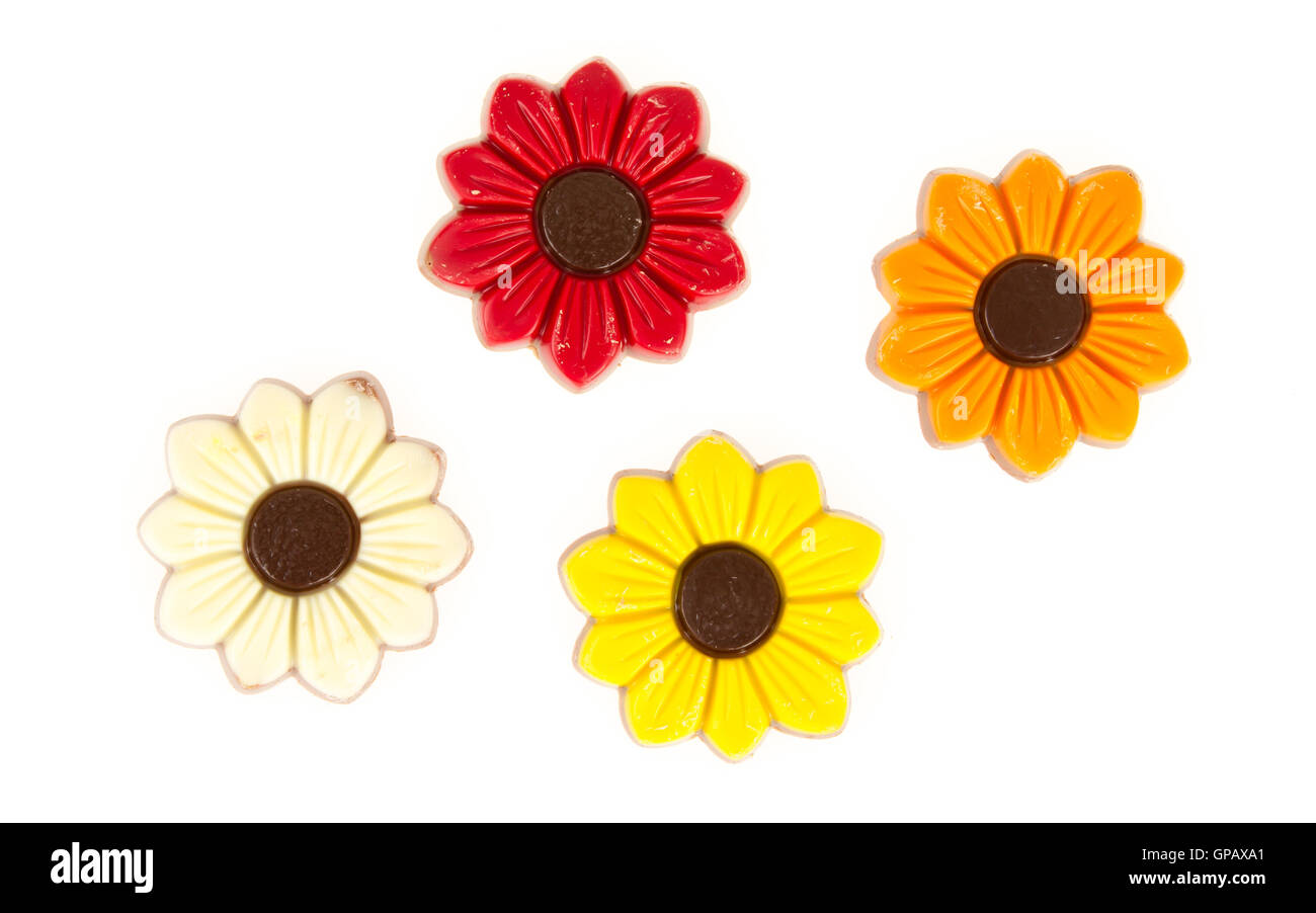 Different colors of chocolate flowers stock photo royalty for What makes flowers different colors