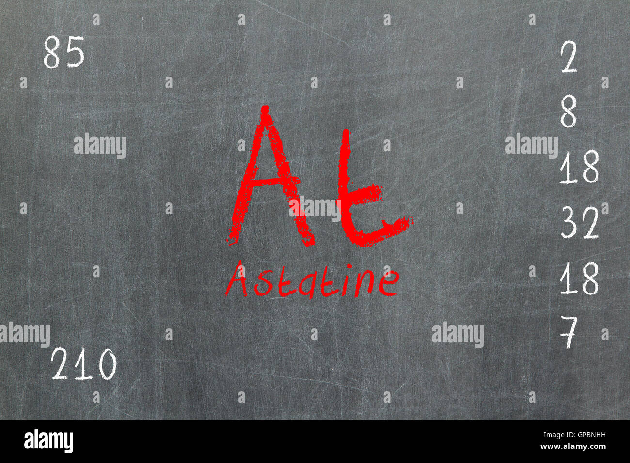 Isolated blackboard with periodic table astatine stock photo isolated blackboard with periodic table astatine urtaz Gallery