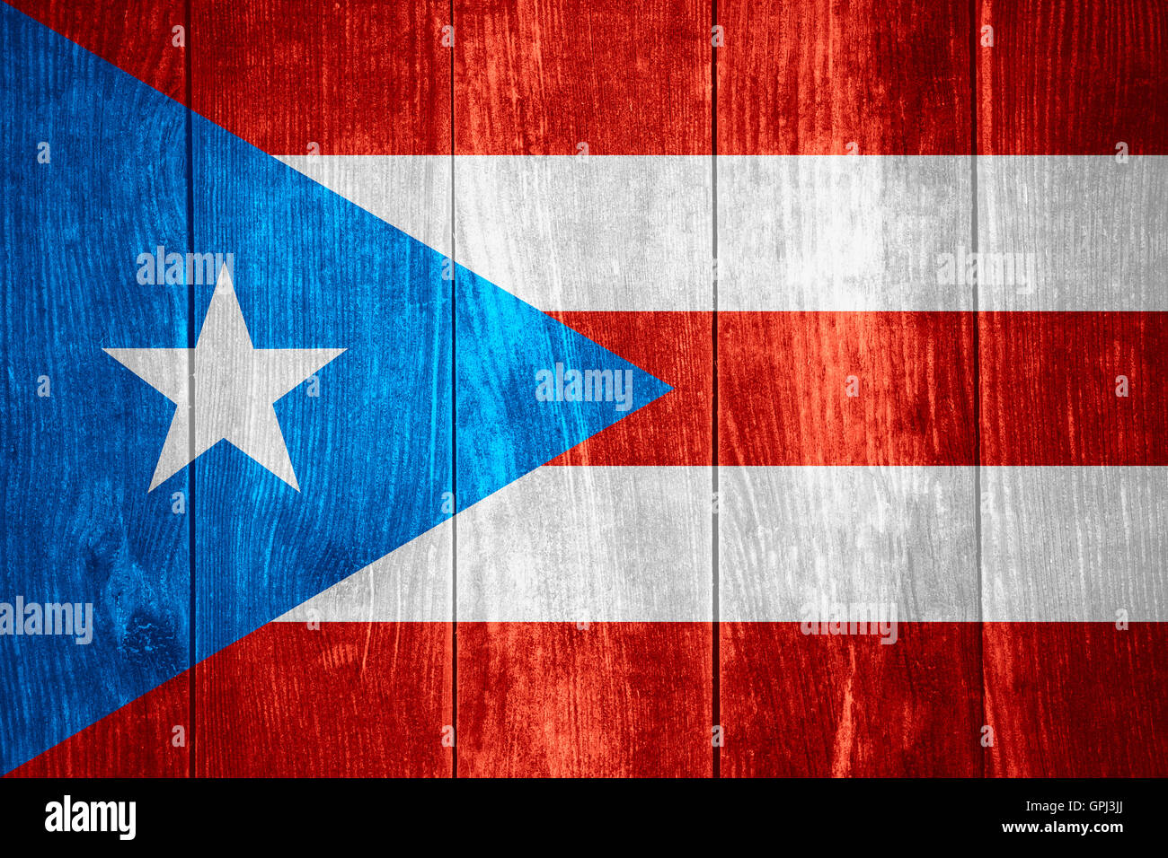 Flag of puerto rico or puerto rican banner on wooden background flag of puerto rico or puerto rican banner on wooden background biocorpaavc Images