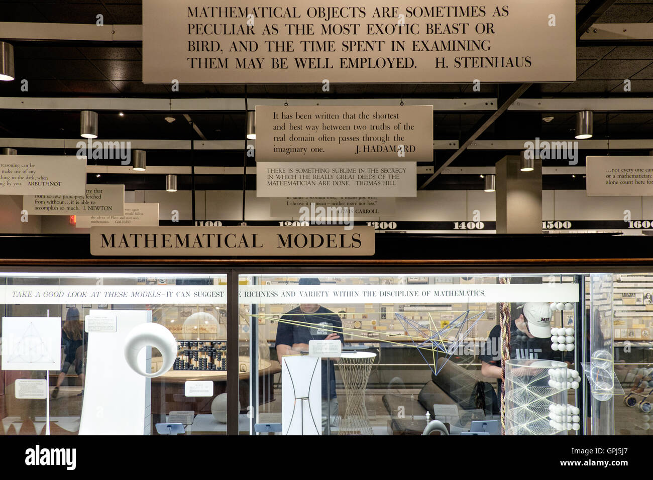 Mathematica Permanent Exhibit Of Mathematics In Museum Of Science - Best free museums in usa