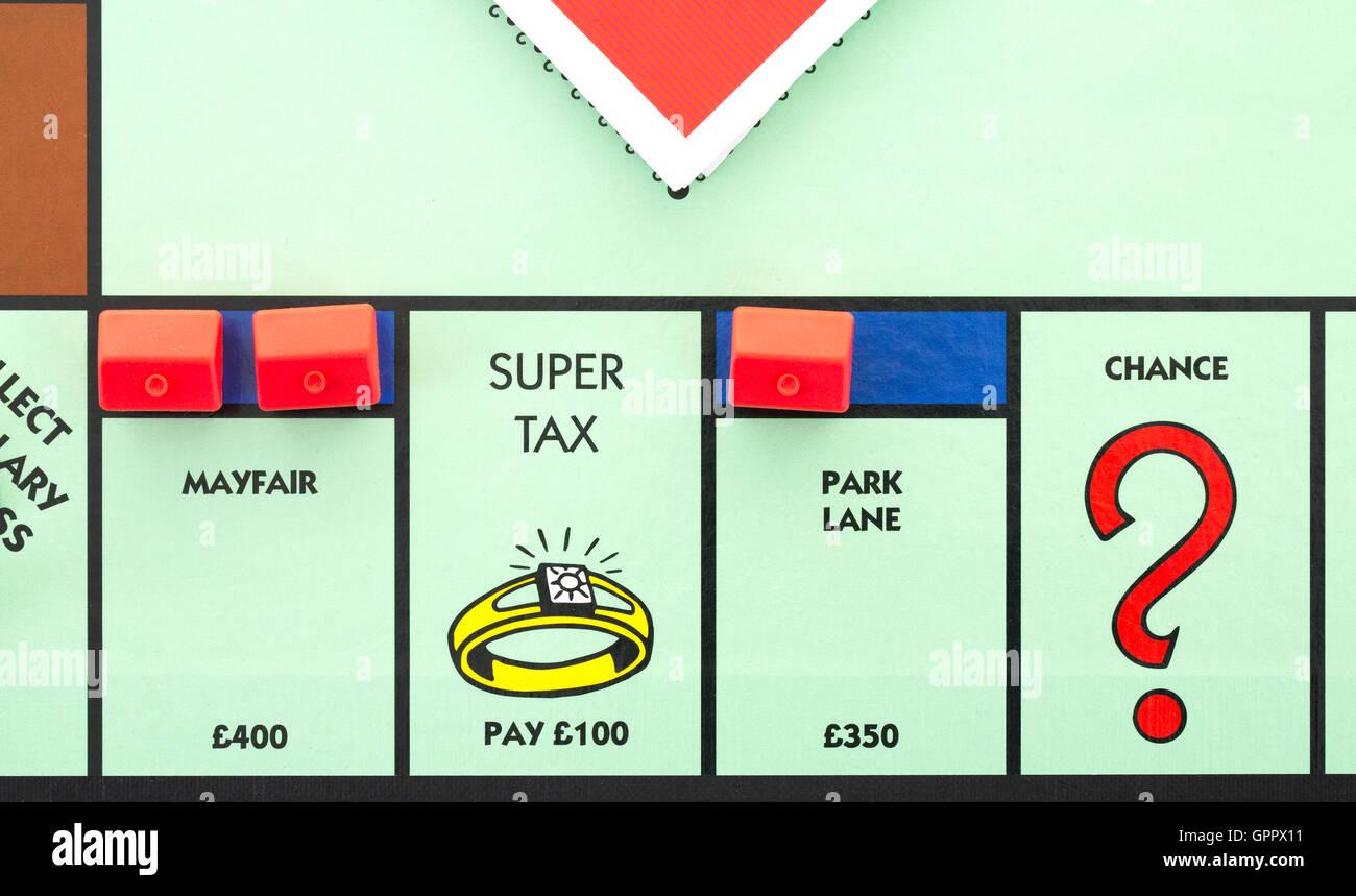 Park lane monopoly coloring pages