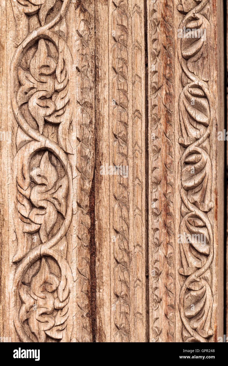Moroccan antique wood texture door carved background stock for Wood carving doors hd images