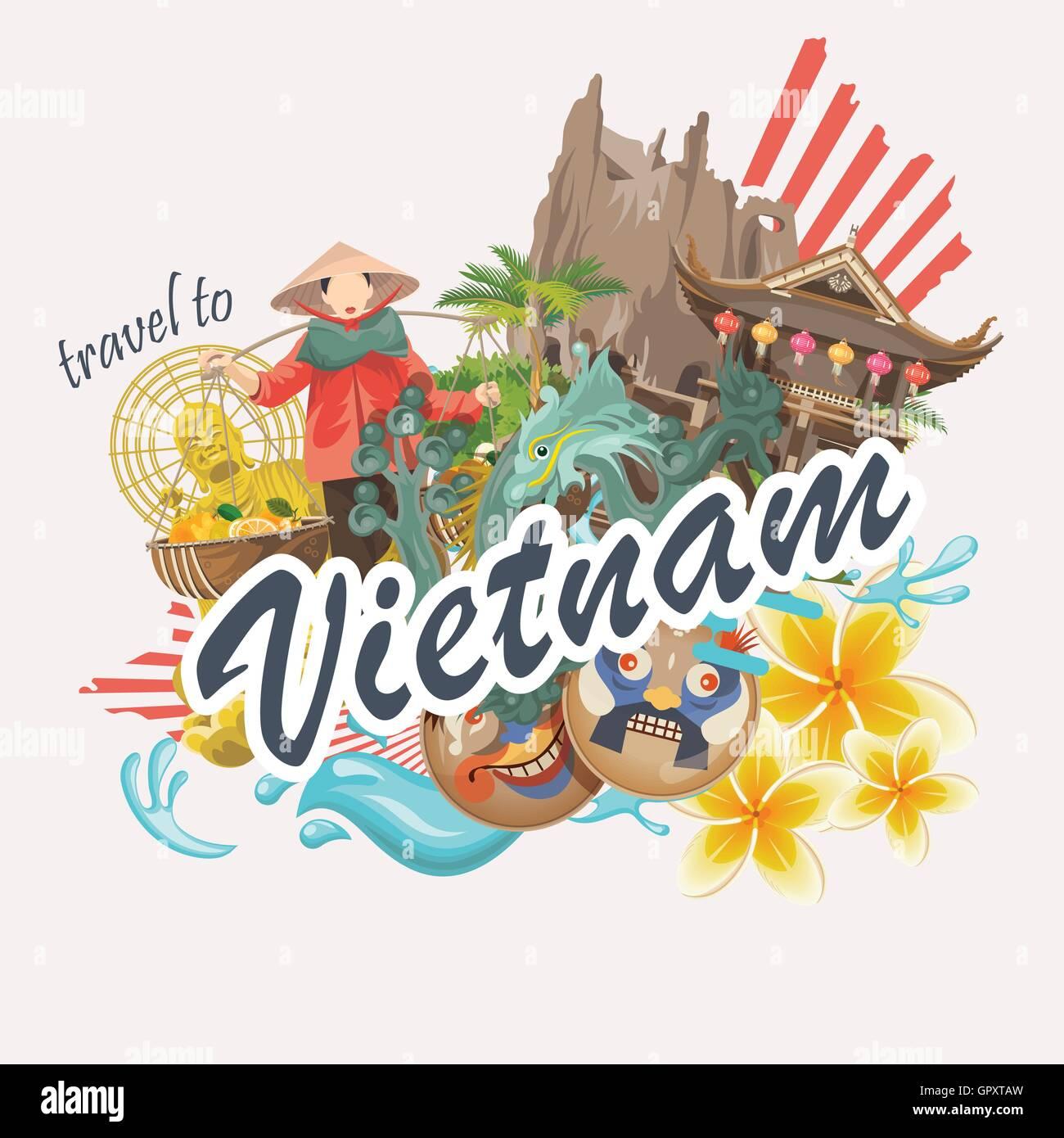 Vietnam And Symbols