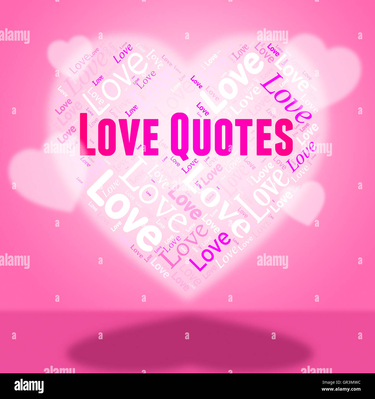 Inspiration Love Quotes Love Quotes Representing Comment Inspiration And Passionate Stock
