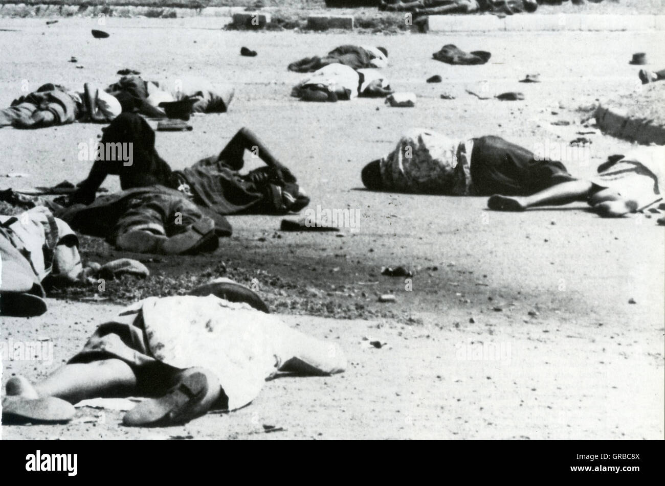 an introduction to the history of the sharpeville massacre In the black township of sharpeville, near johannesburg, south africa, afrikaner police open fire on a group of unarmed black south african demonstrators, killing 69 people and wounding 180.