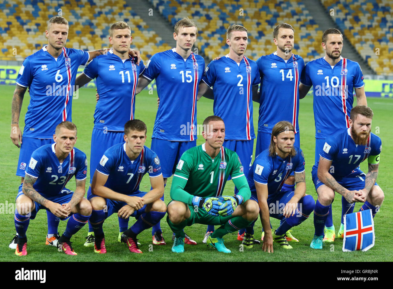 iceland national football team stock photo 117655491 alamy