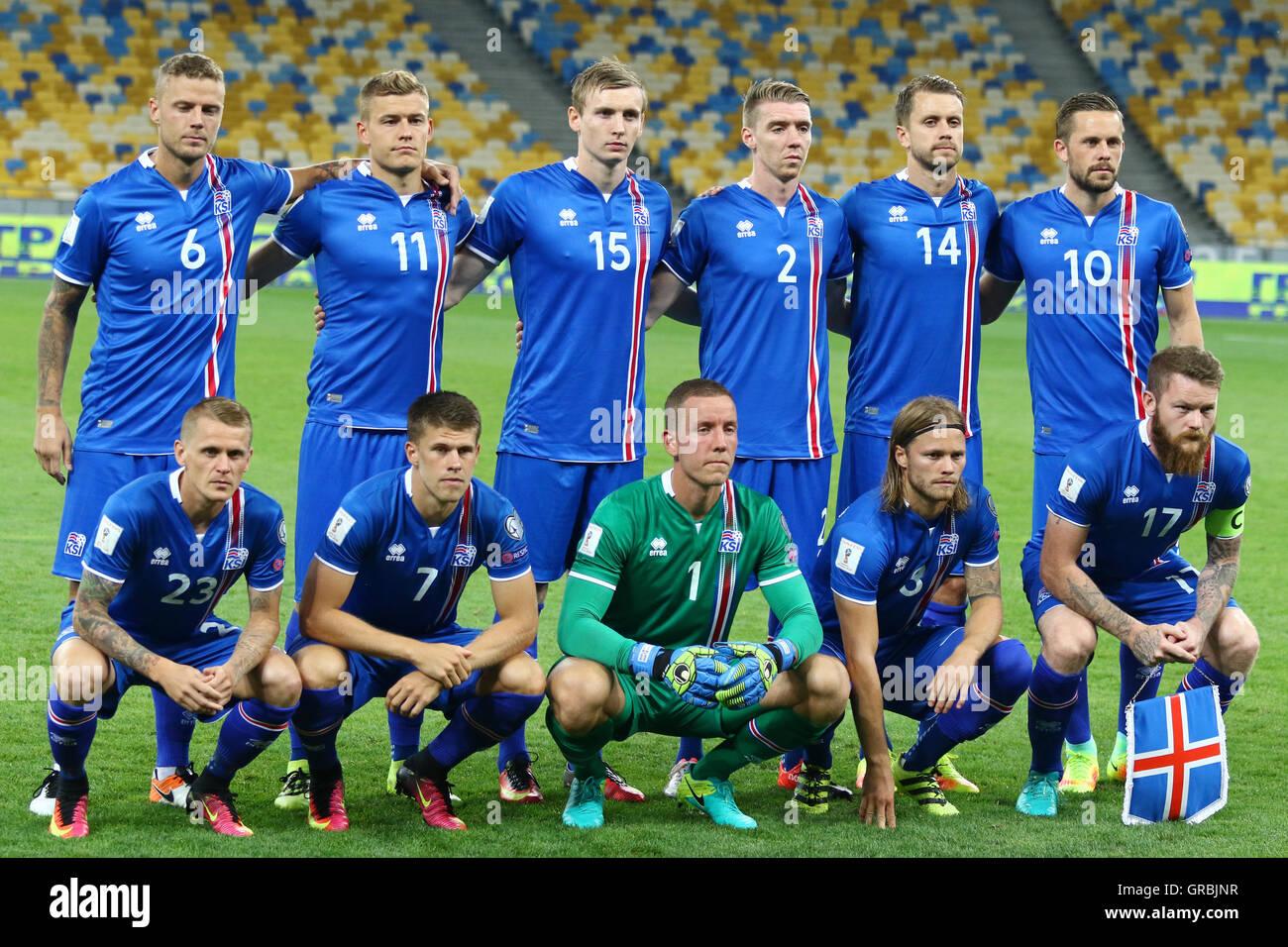 iceland national football team stock photo 117655491 alamy