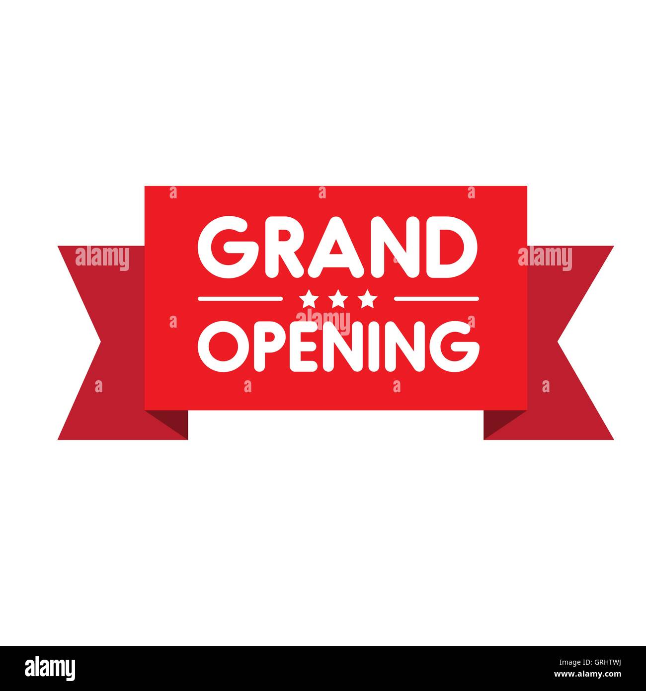 Grand opening invitation label lettering stock vector art grand opening invitation label lettering stopboris Images