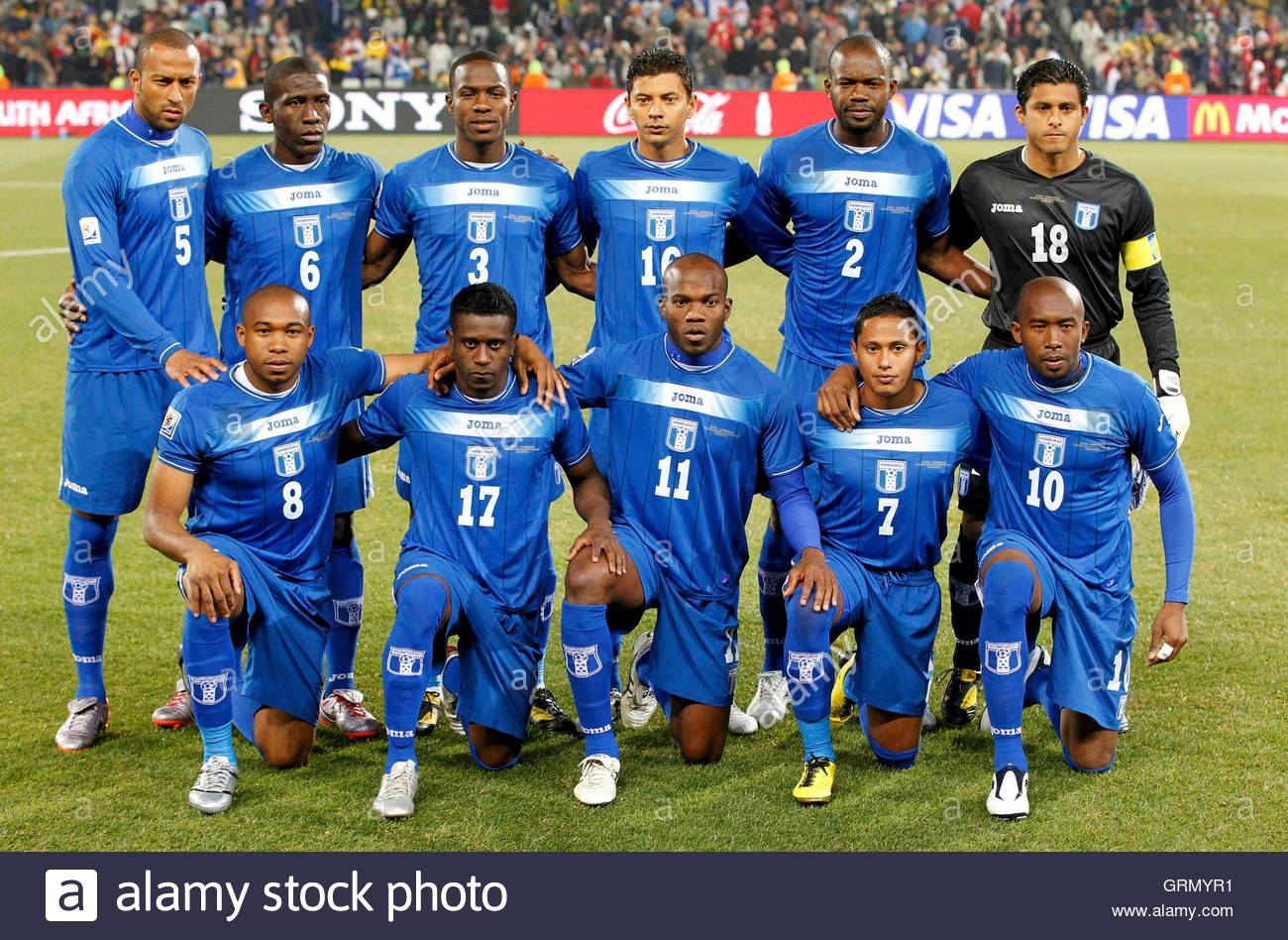 mauricio sabillon stock photos mauricio sabillon stock images players line up for a team photo before the 2010 world cup group h