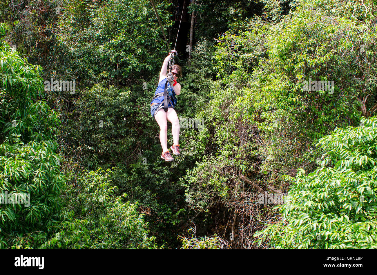 Zip wire Canopy Adventures and Secret Falls Koh Samui Thailand & Zip wire Canopy Adventures and Secret Falls Koh Samui Thailand ...