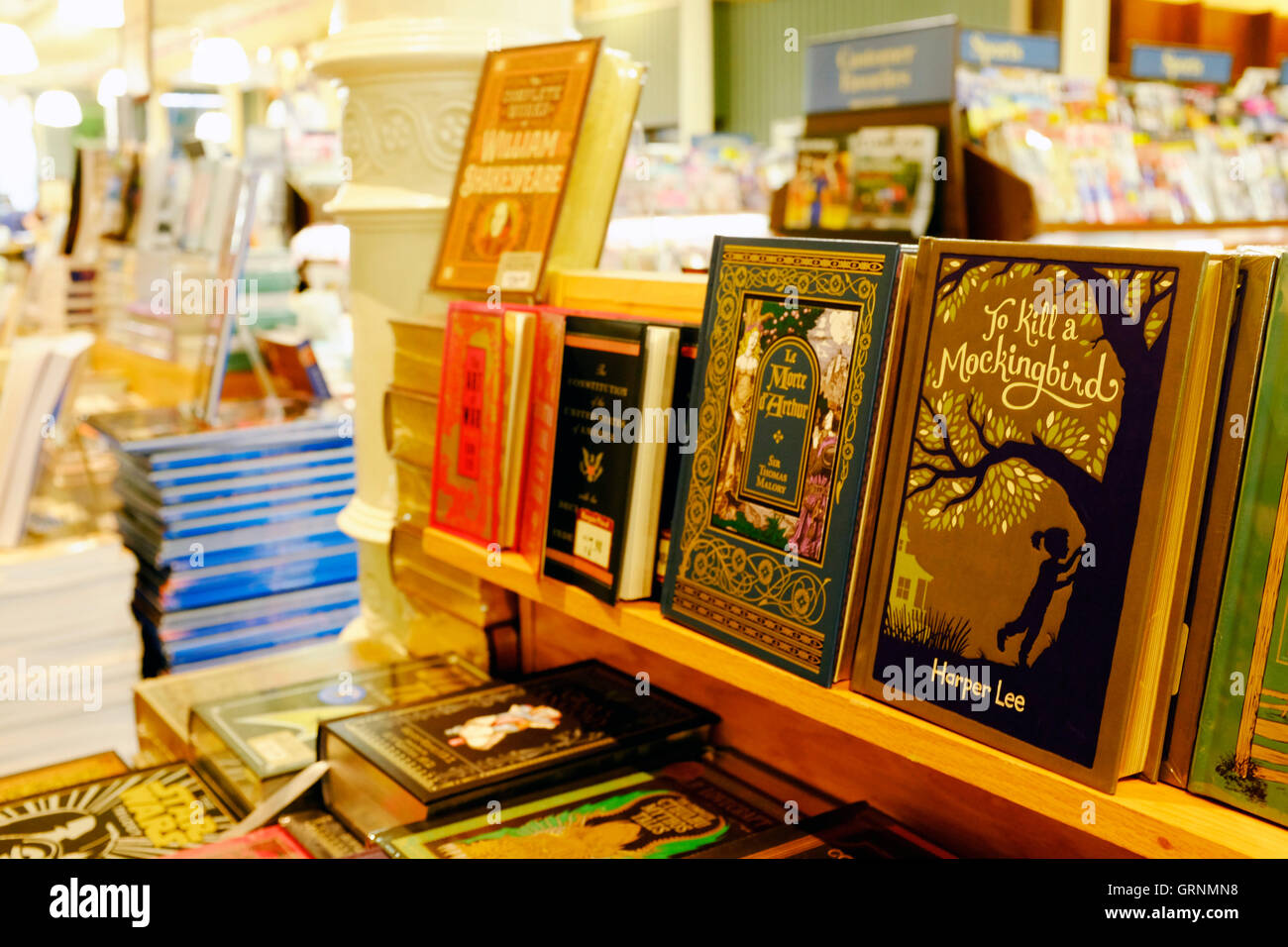Books on display at Barnes & Noble Booksellers in Union ...