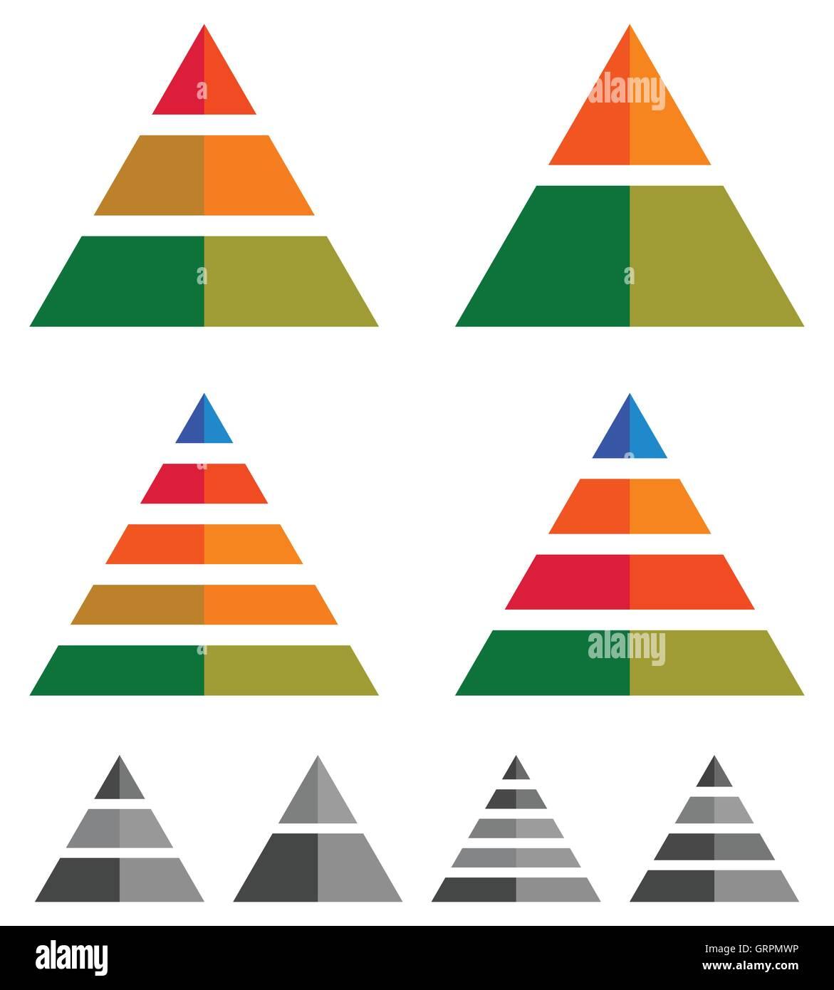 Как сделать треугольную диаграмму