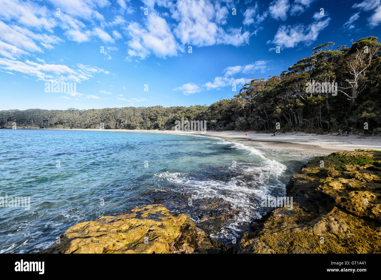 murrays beach  jervis bay  booderee national park  new south wales stock photo  royalty free