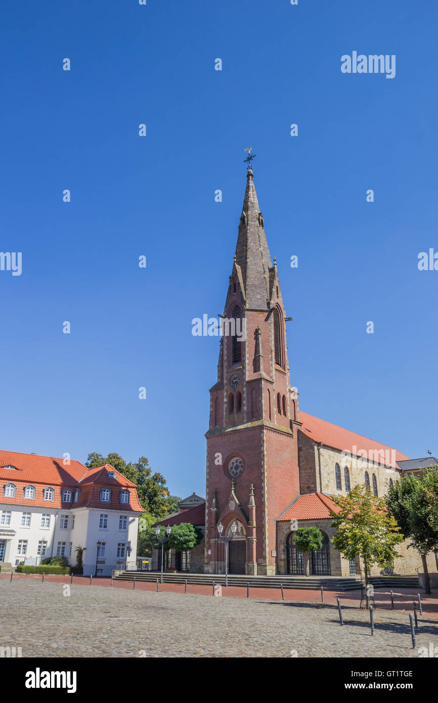 St Marien Church On The Market Square In Quakenbruck Germany - Quakenbruck germany map