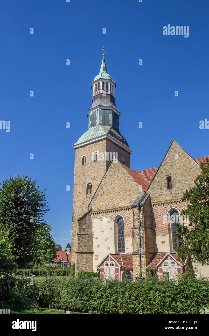 St Sylvester Church In The Historical Center Of Quakenbruck - Quakenbruck germany map