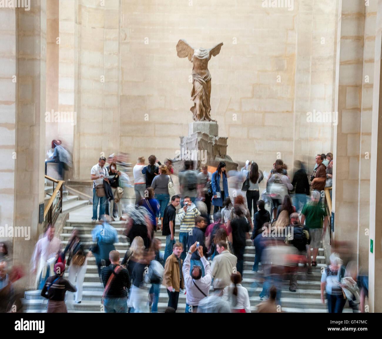 Winged Victory of Samothrace, Nike of Samothrace, Louvre museum