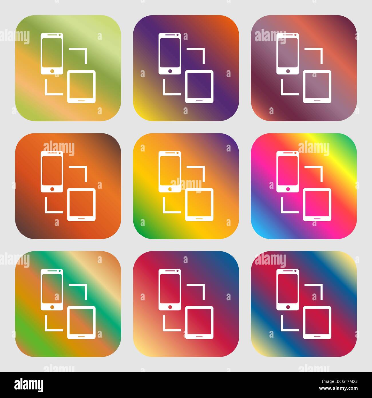 Synchronization sign icon communicators sync symbol data synchronization sign icon communicators sync symbol data exchange nine buttons with bright gradients for beautiful design v biocorpaavc
