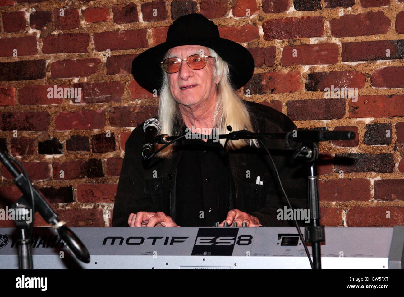 former grateful dead keyboardist tom constanten stock photo 118750880 alamy. Black Bedroom Furniture Sets. Home Design Ideas