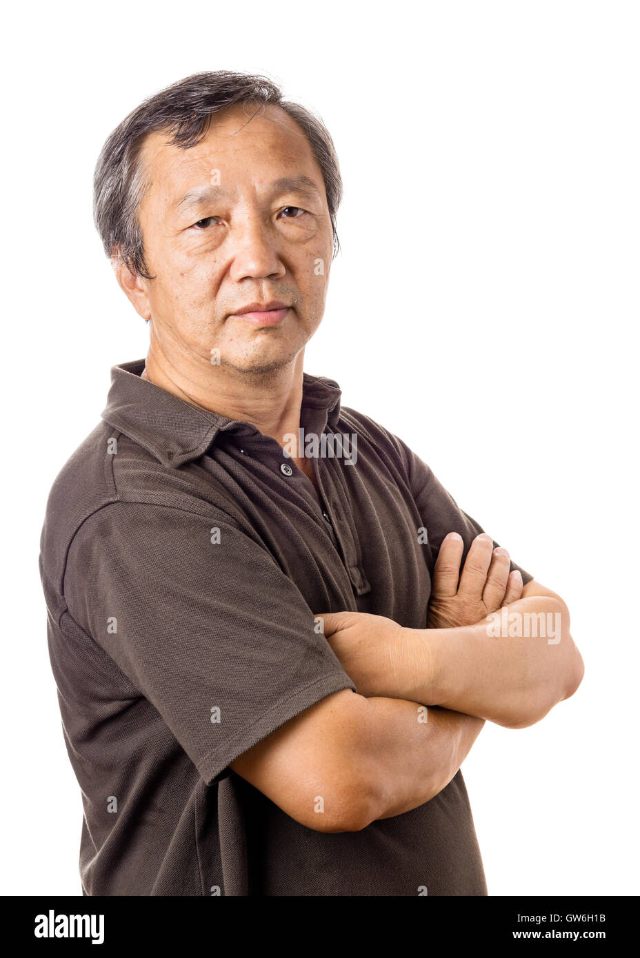 asian mature man stock photo, royalty free image: 118773687 - alamy