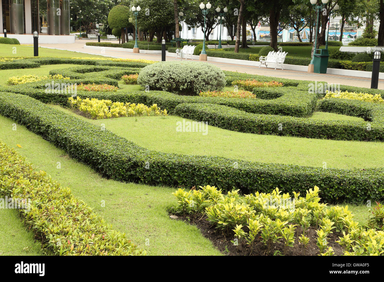 Beautiful natural gardens - Stock Photo Beautiful Natural Garden Arrangement