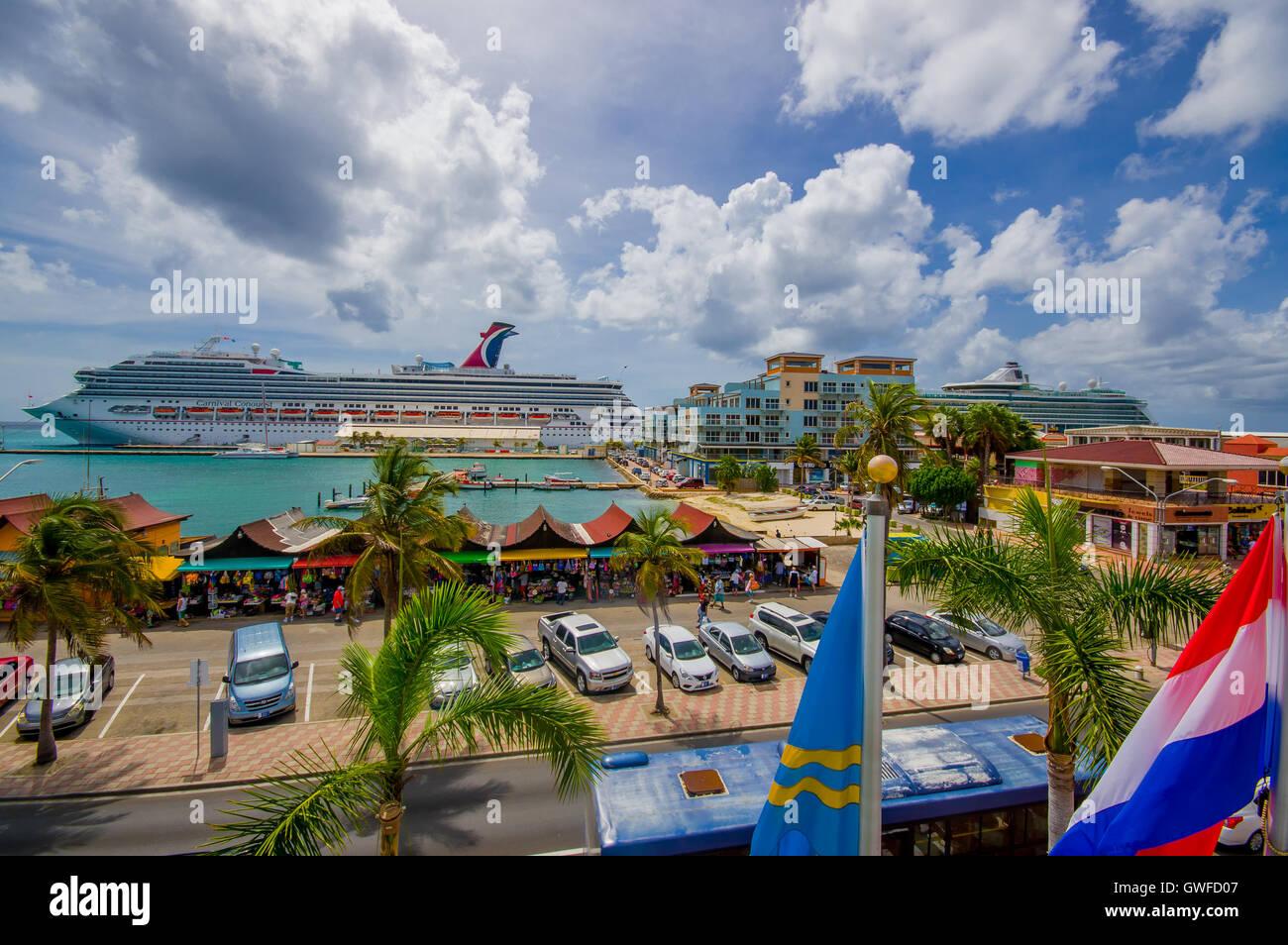 ORANJESTAD ARUBA NOVEMBER Port Used For Tourism Of - Cruise ships in aruba