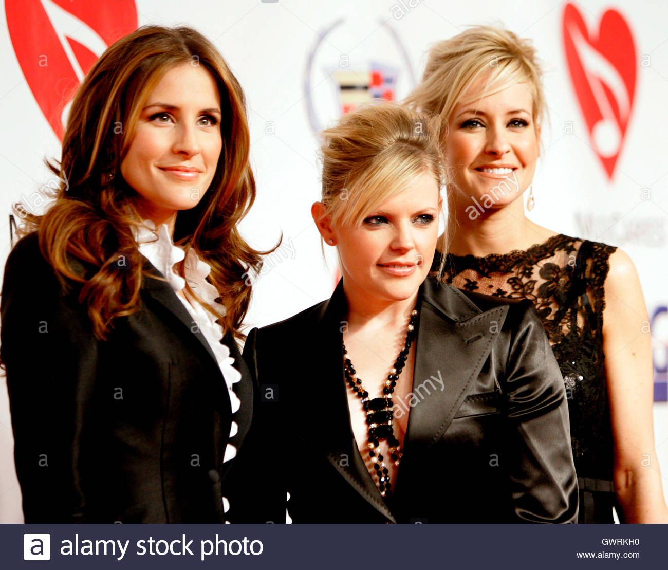 Emily Robison The Dixie Chicks Emily Robison L Natalie Maines C And Martie