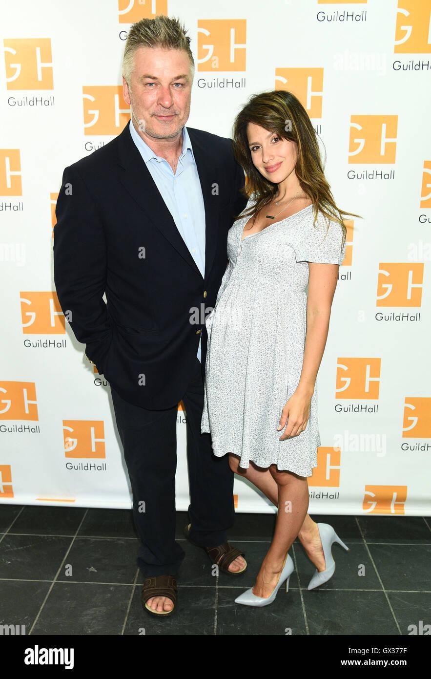 Alec Baldwin enjoys a stroll around NYC with pregnant wife