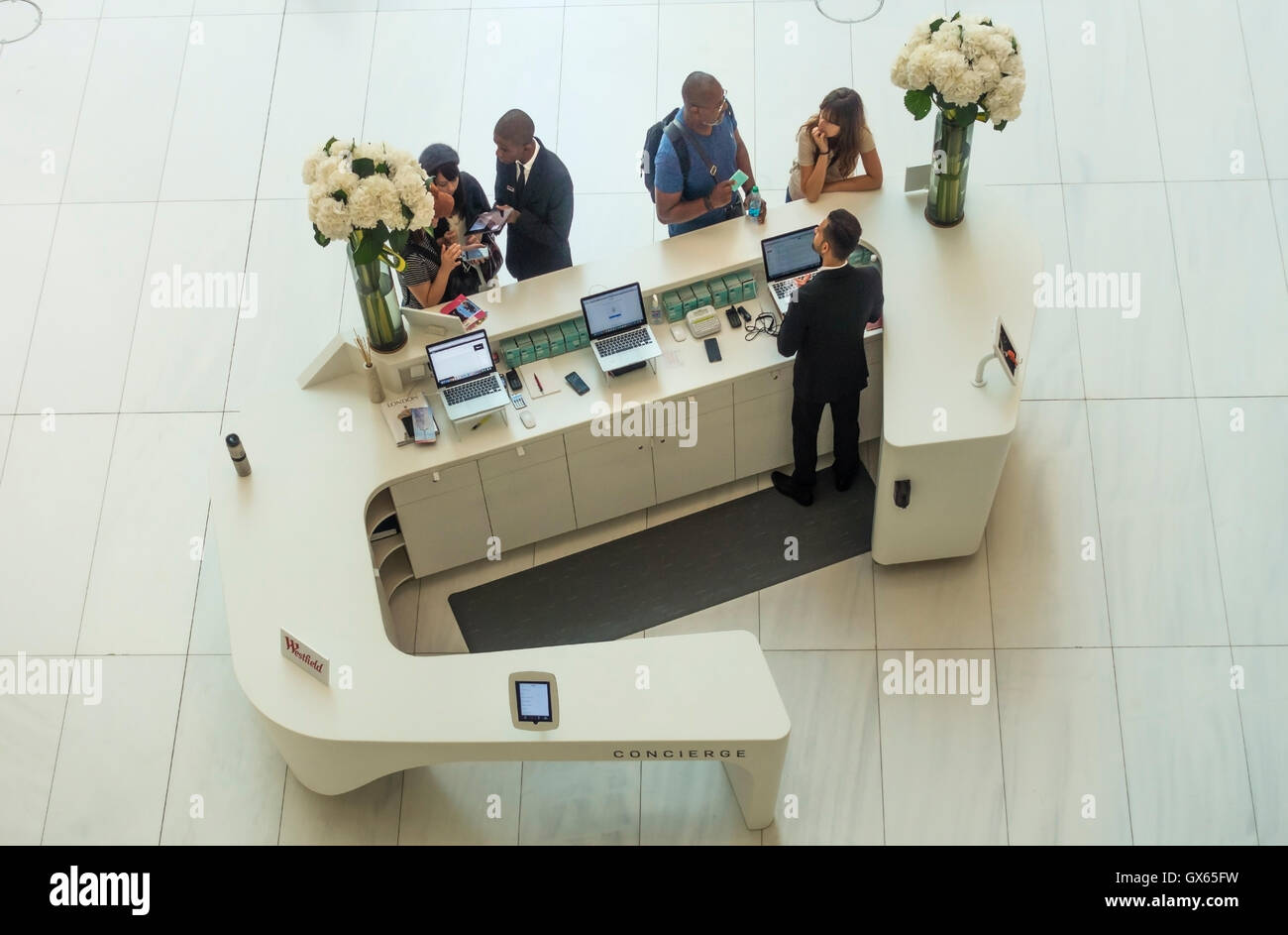 home design ideas best 25 reception counter design ideas only on the concierge desk in the oculus of the world trade center transportation hub in new york