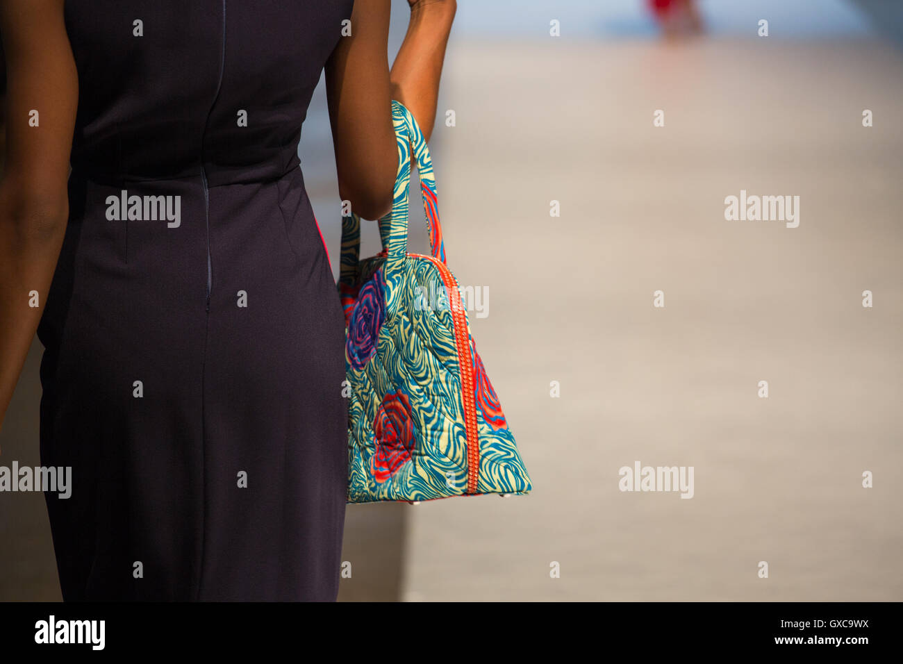 Lady Biba is showcased at Africa Fashion Week London Stock Photo ...
