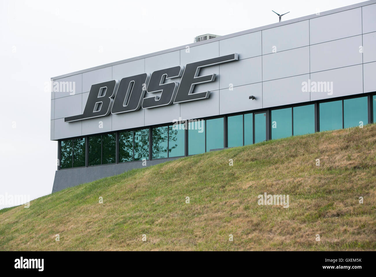 bose corporation. a logo sign outside of the headquarters bose corporation in framingham, massachusetts on august 13, 2016. v