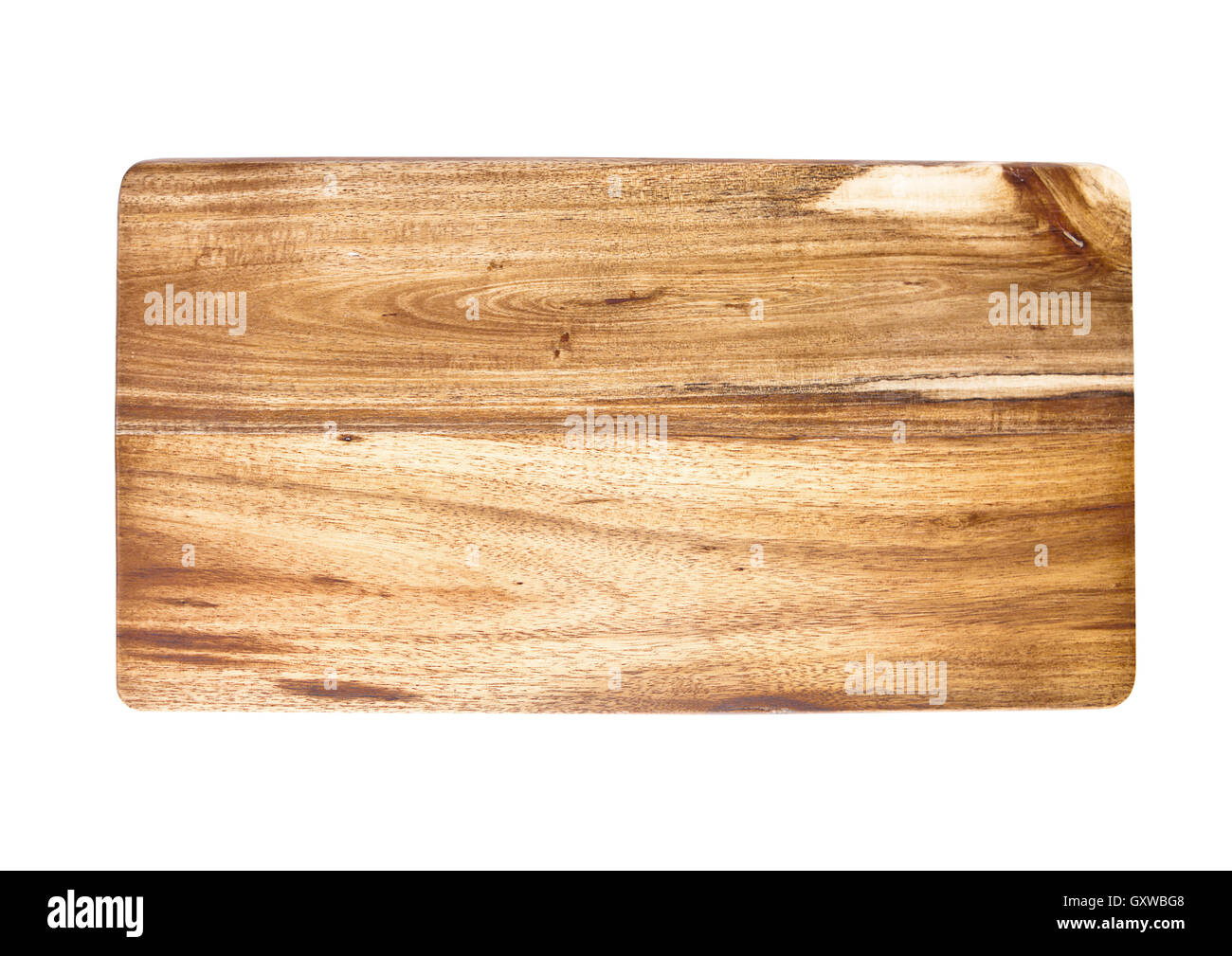 Wooden cutting board isolated on a white background best