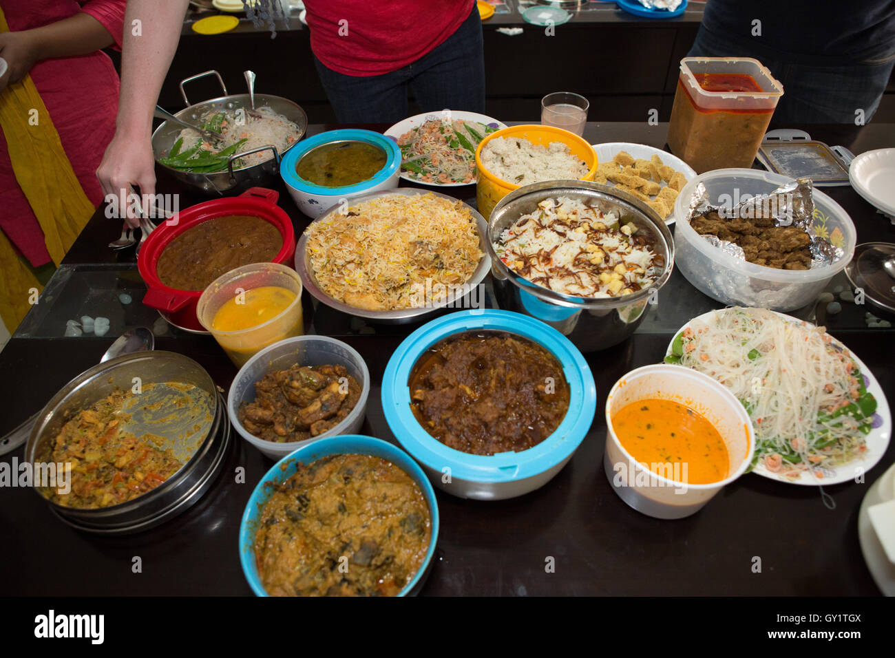 Indian Food For Office Potluck