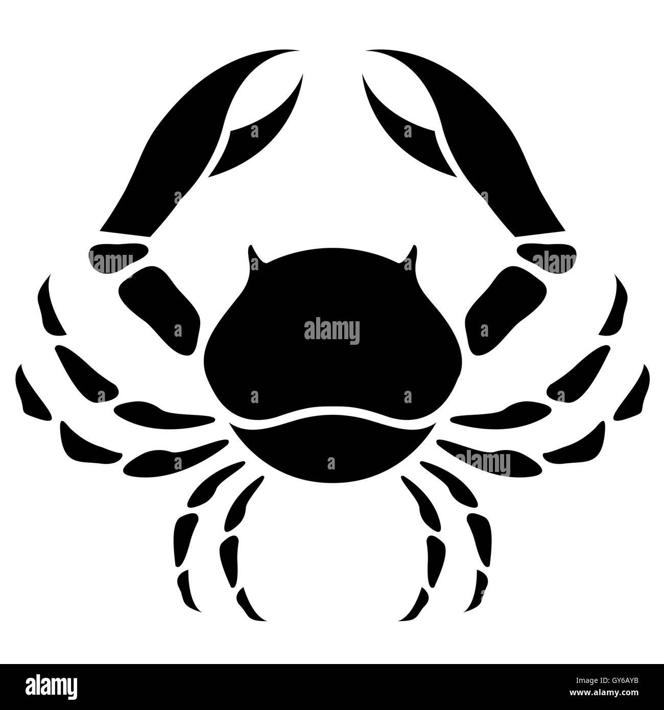 cancer crab zodiac sign images. Black Bedroom Furniture Sets. Home Design Ideas