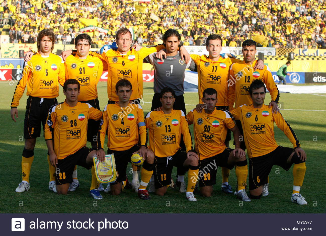 karimi stock photos karimi stock images page alamy s sepahan poses for team photo before their asian champions league final first leg soccer match