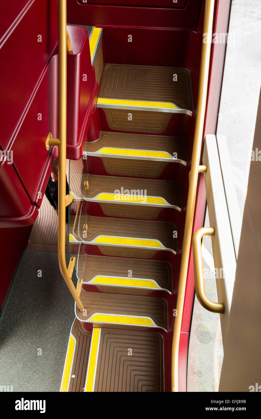 Steps For Buses : The passenger stairs stair case steps at front