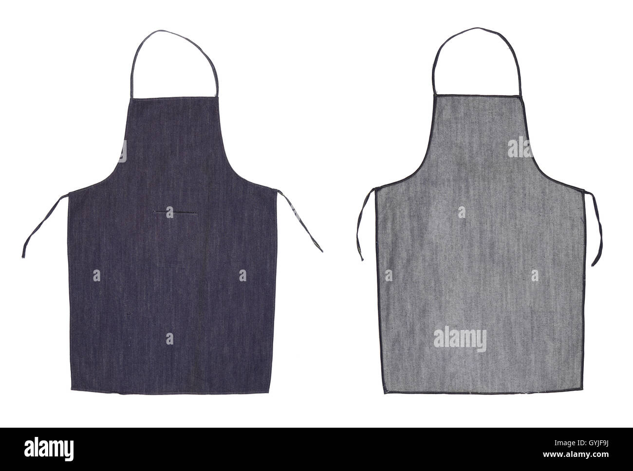 Blue apron free - Kitchen Blue Apron Front And Back View